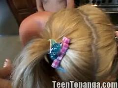 Little Summer and Teen Topanga