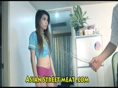 Street Thai girl fucked hard