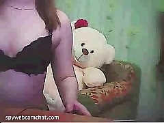 Two girls (one is amazing) are teasing (boobs, ass) in chat roulette