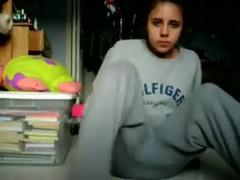 estudiante webcam