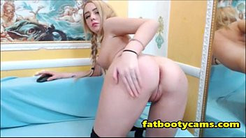 College Teen Showing Virgin Ass - fatbootycams.com