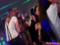 Night club whores orgy