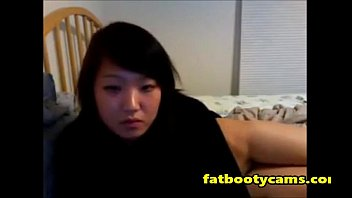 Cute and Innocent Asian Teen on Cam - fatbootycams.com